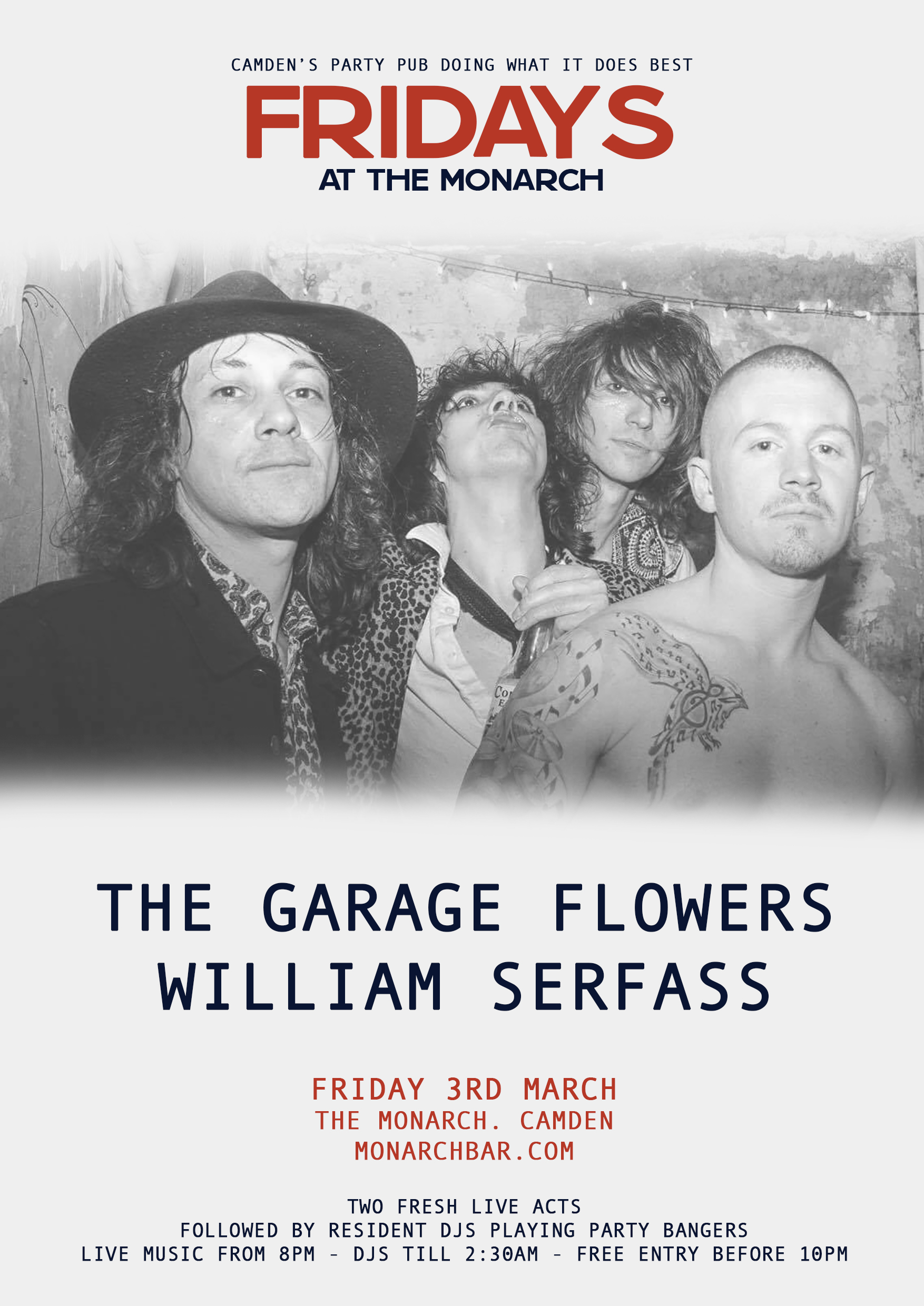 THE GARAGE FLOWERS