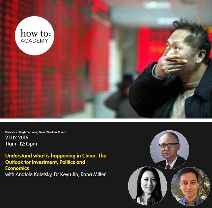 how to:  Understand what is happening in China. The Outlook for Investment, Politics and Economics