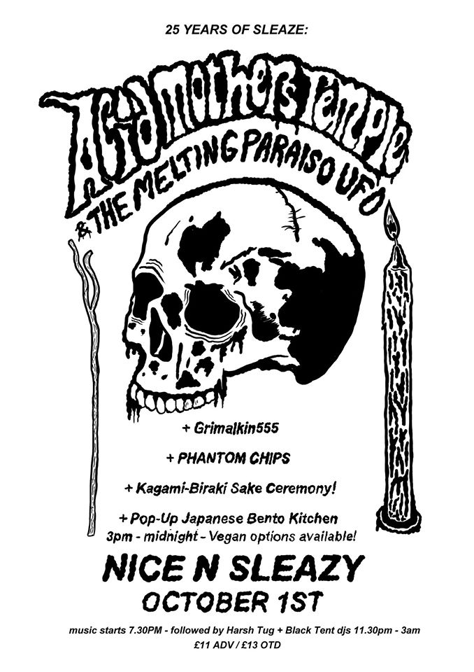 25 Years of Sleaze : Acid Mothers Temple + The Melting Paraiso UFO + GRIMALKIN555 + Phantom Chips