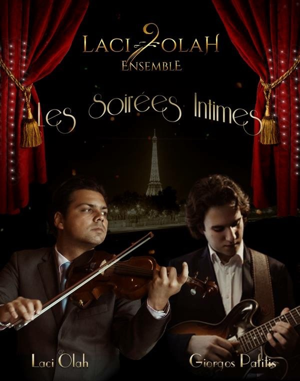 LACI OLAH Violin led Ensemble - Les Soirées Intimes FREE for arrivals before 8pm