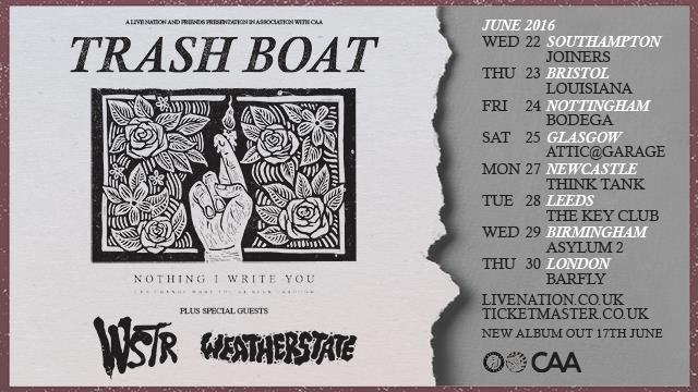 Trash Boat + WSTR + Weatherstate + Tuskens