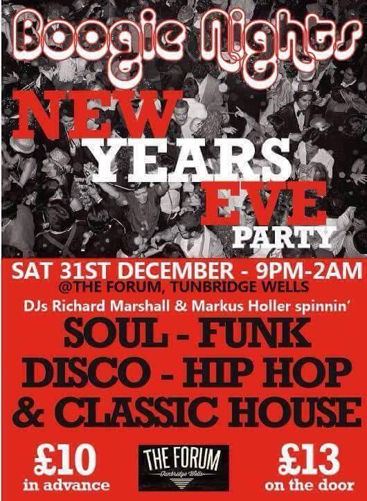 Boogie Nights : New Years Eve