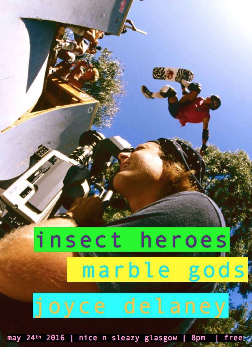 Insect Heroes +  Marble Gods + Joyce Delaney