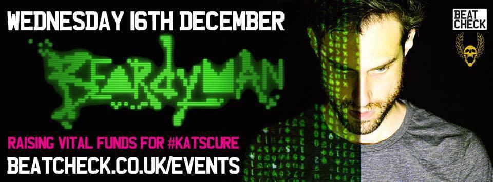 Beatcheck present: Beardyman – One Album per hour for #KatsCure