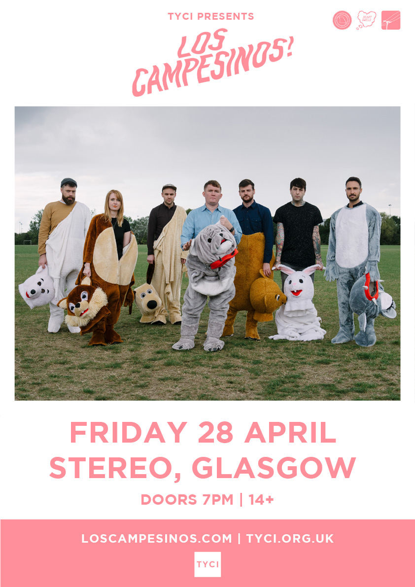 SOLD OUT: TYCI present Los Campesinos! + support