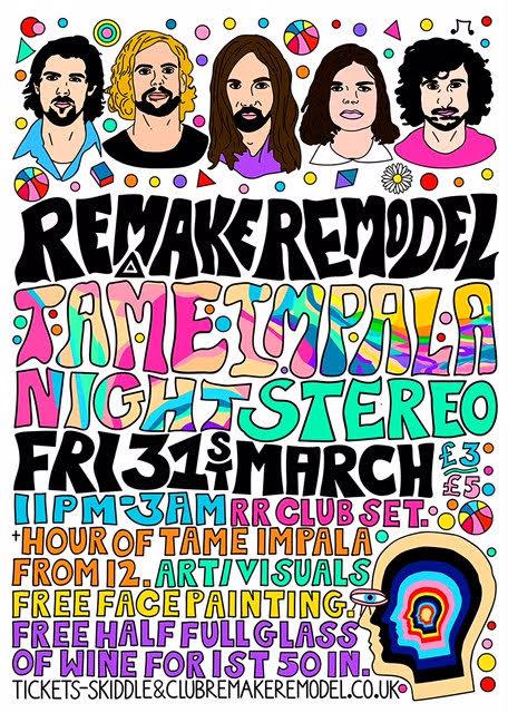 Remake Remodel Tame Impala Night