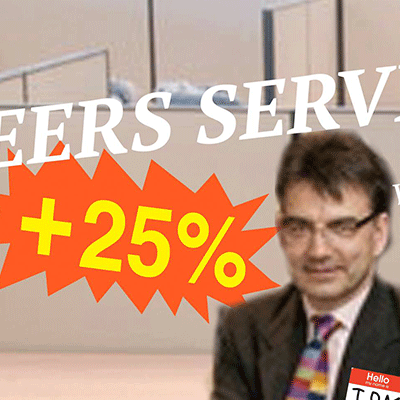 25%+ Presents: ✩ Careers Services ✩