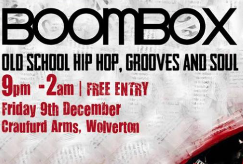 Boombox - Old School Hip Hop, Grooves and Soul