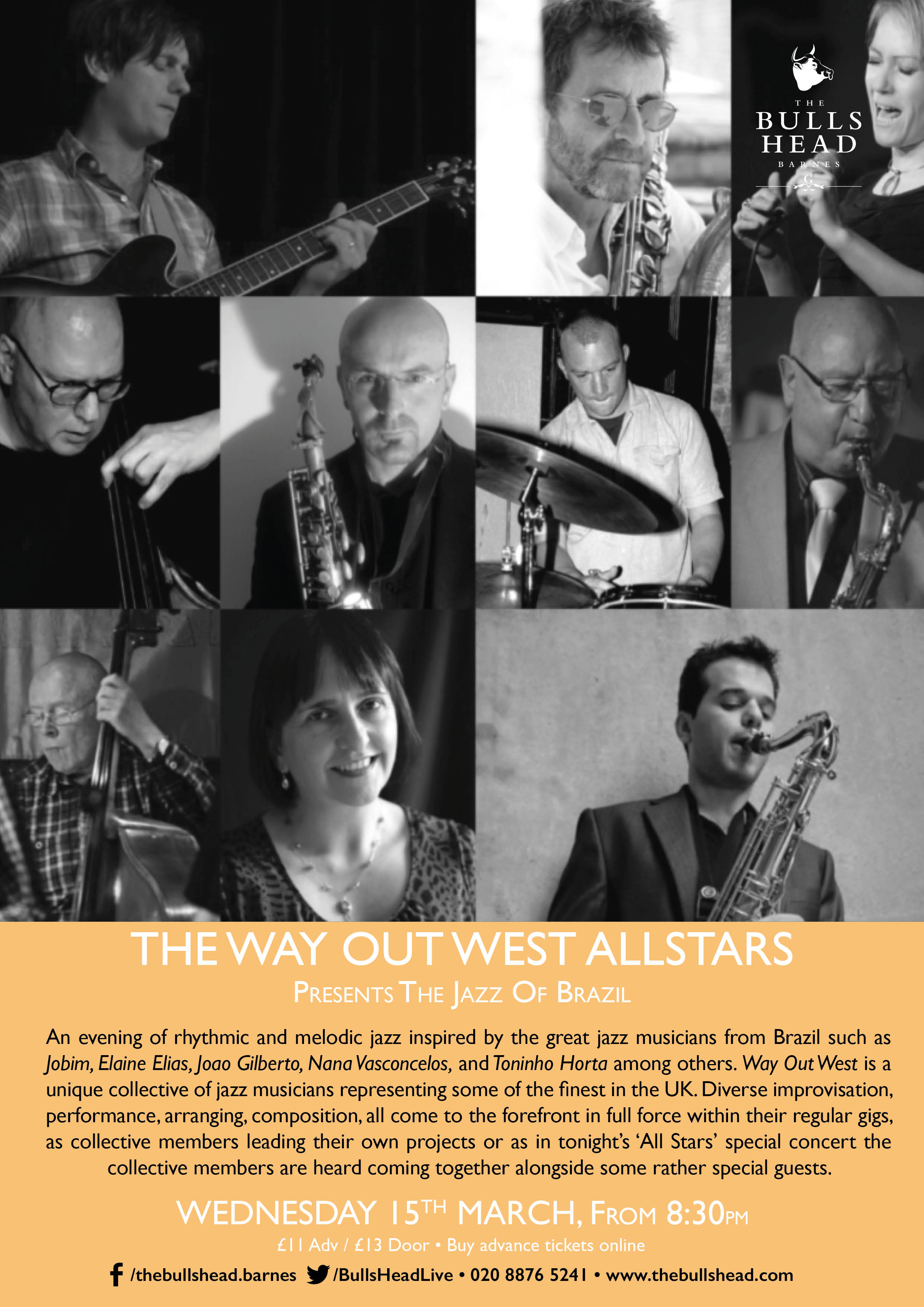 The Way Out West Allstars - A Short History of Jazz Part II