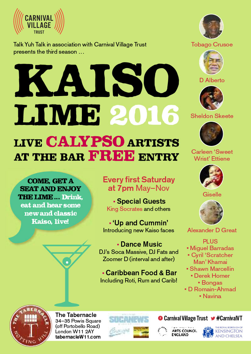 KAISO LIME 2016       (Tabernacle Bar)