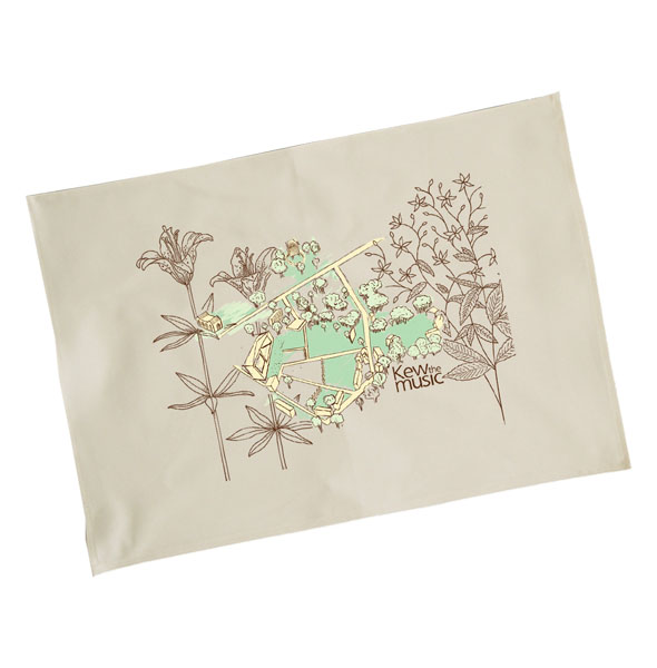 Kew The Music Tea Towel - Kew The Music