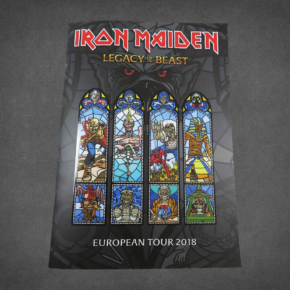Legacy Of The Beast 2018 Tour Programme - Iron Maiden [Global UK]