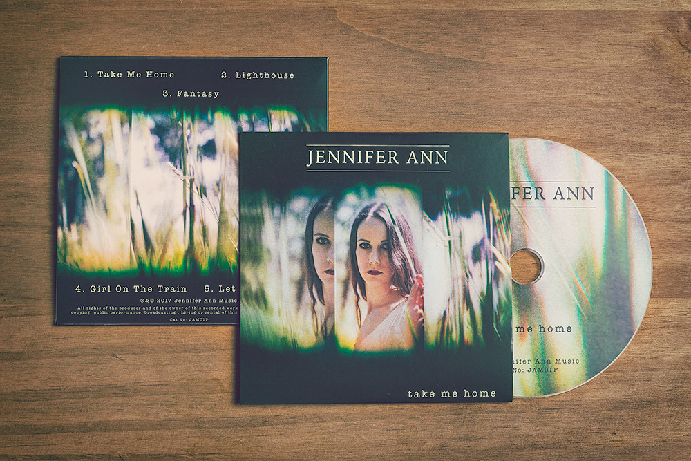 Take Me Home EP - CD - Jennifer Ann