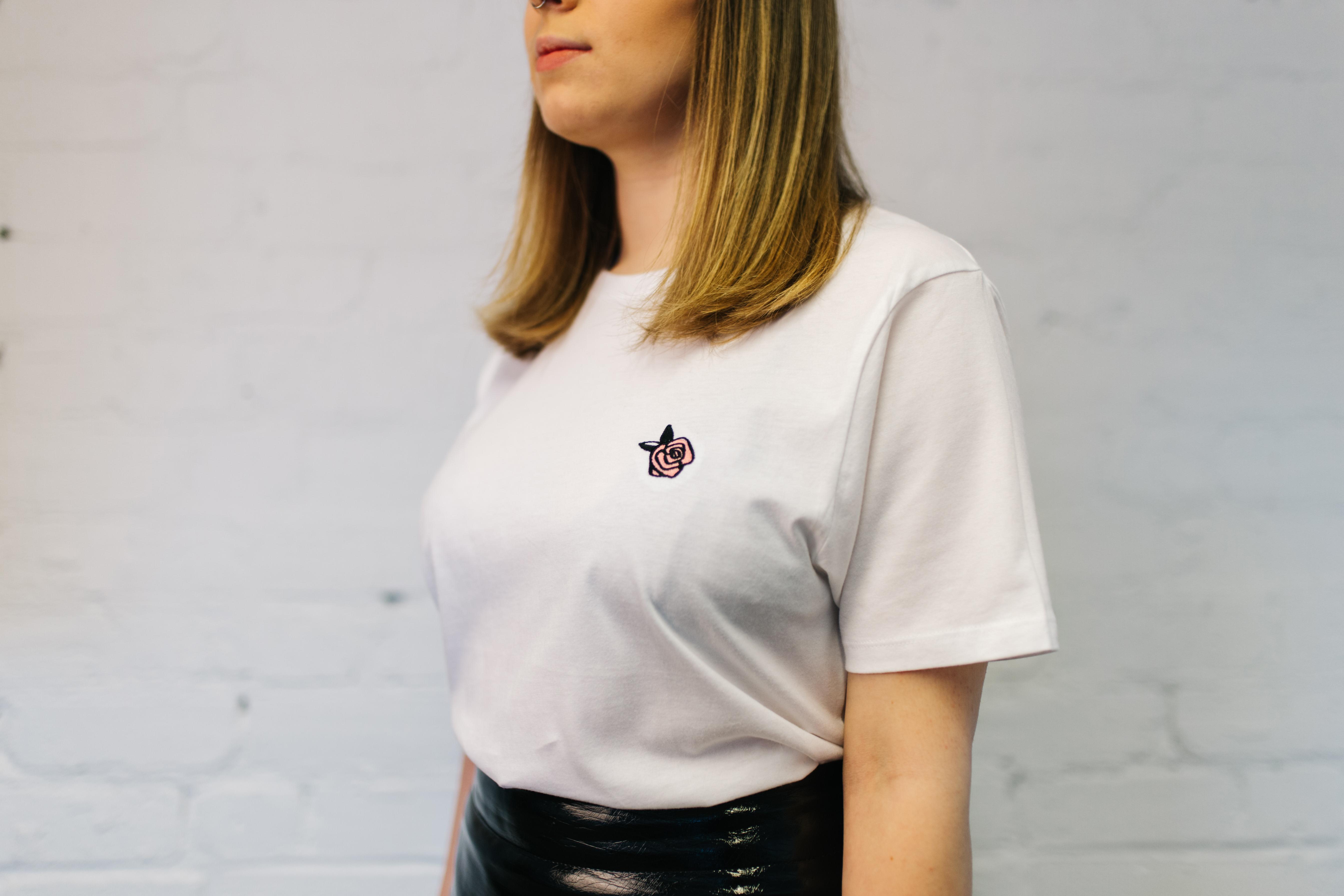 Rose - White T-Shirt - Lewis Capaldi