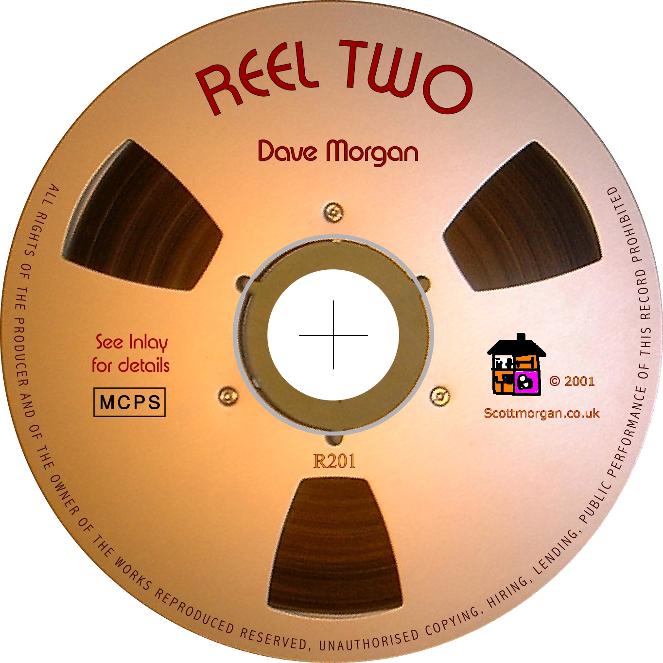 Reel Two CD - Dave Scott-Morgan