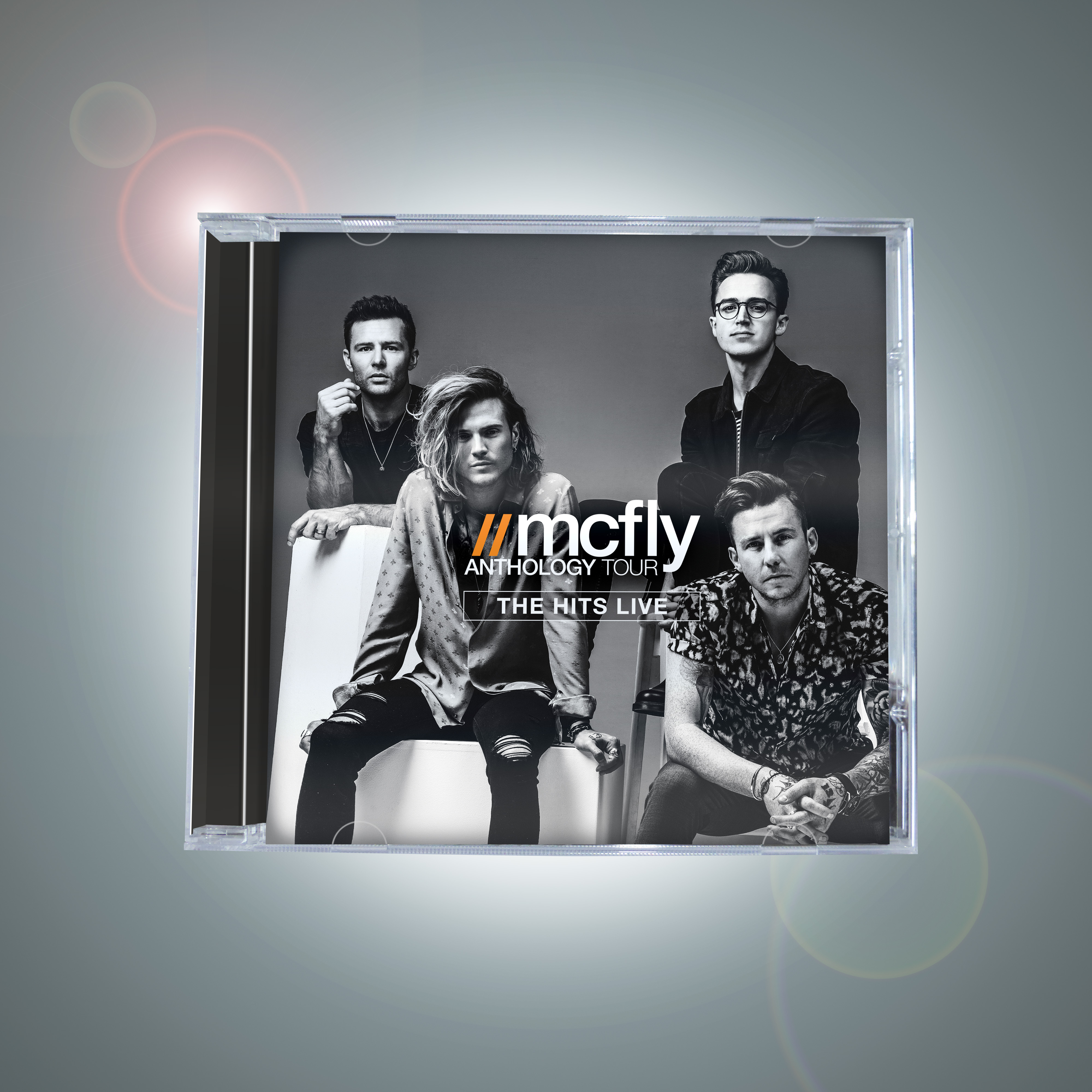 Anthology Tour (The Hits Live) CD - McFly
