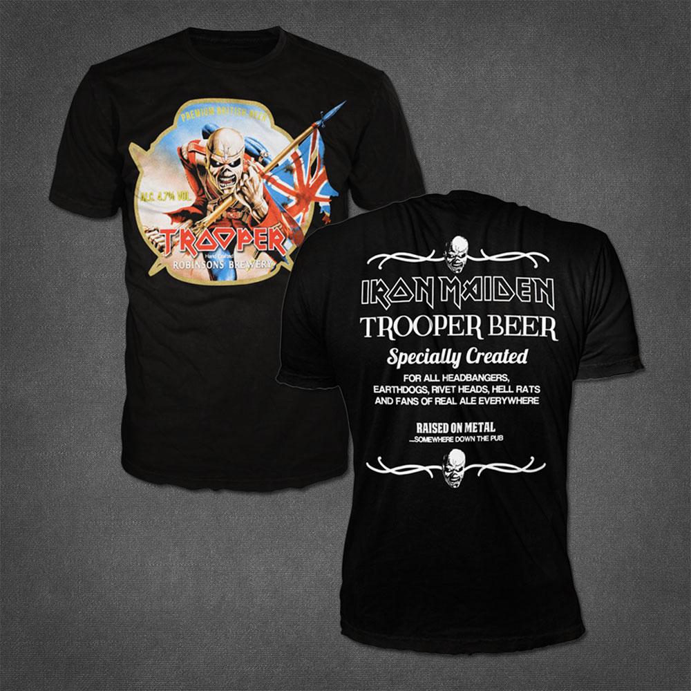 Retro Trooper T-Shirt - Iron Maiden [Global USA]