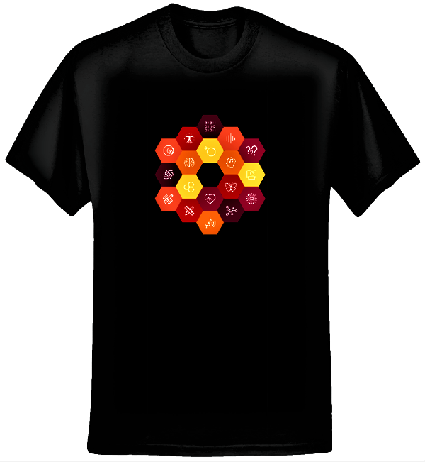 Virtual Choir 5 STEAM T-shirt (Women/Black) - Eric Whitacre