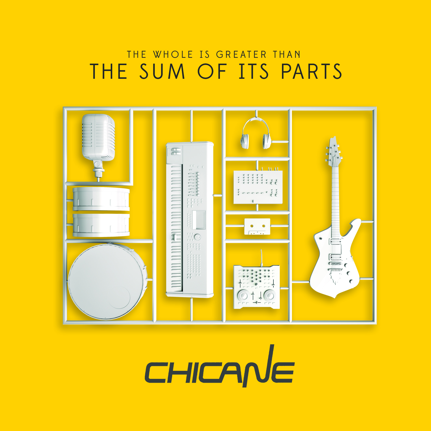 The Sum Of Its Parts (CD) - Chicane