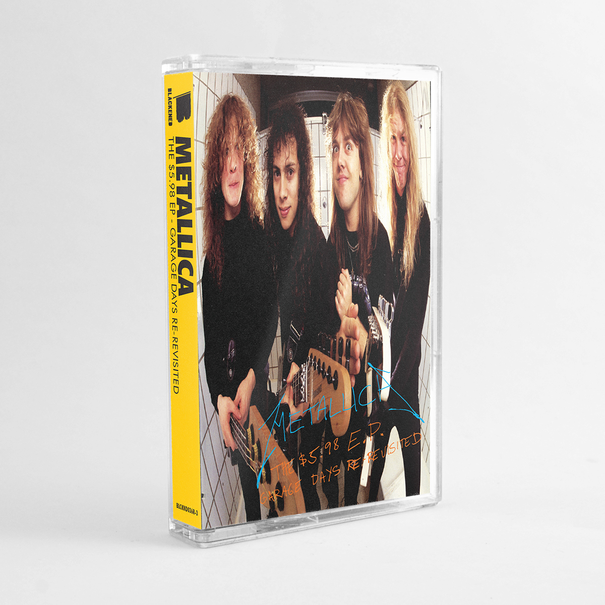 The $5.98 EP – Garage Days Re-Revisited (Remastered) – Cassette (Limited Edition) - Metallica