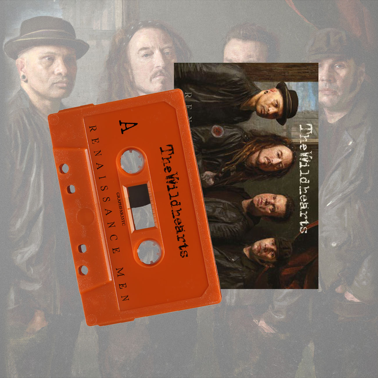 The Wildhearts - 'Renaissance Men' Limited Edition Cassette Tape - The Wildhearts