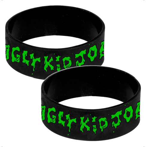Green Logo - Silicone Wristband - Ugly Kid Joe