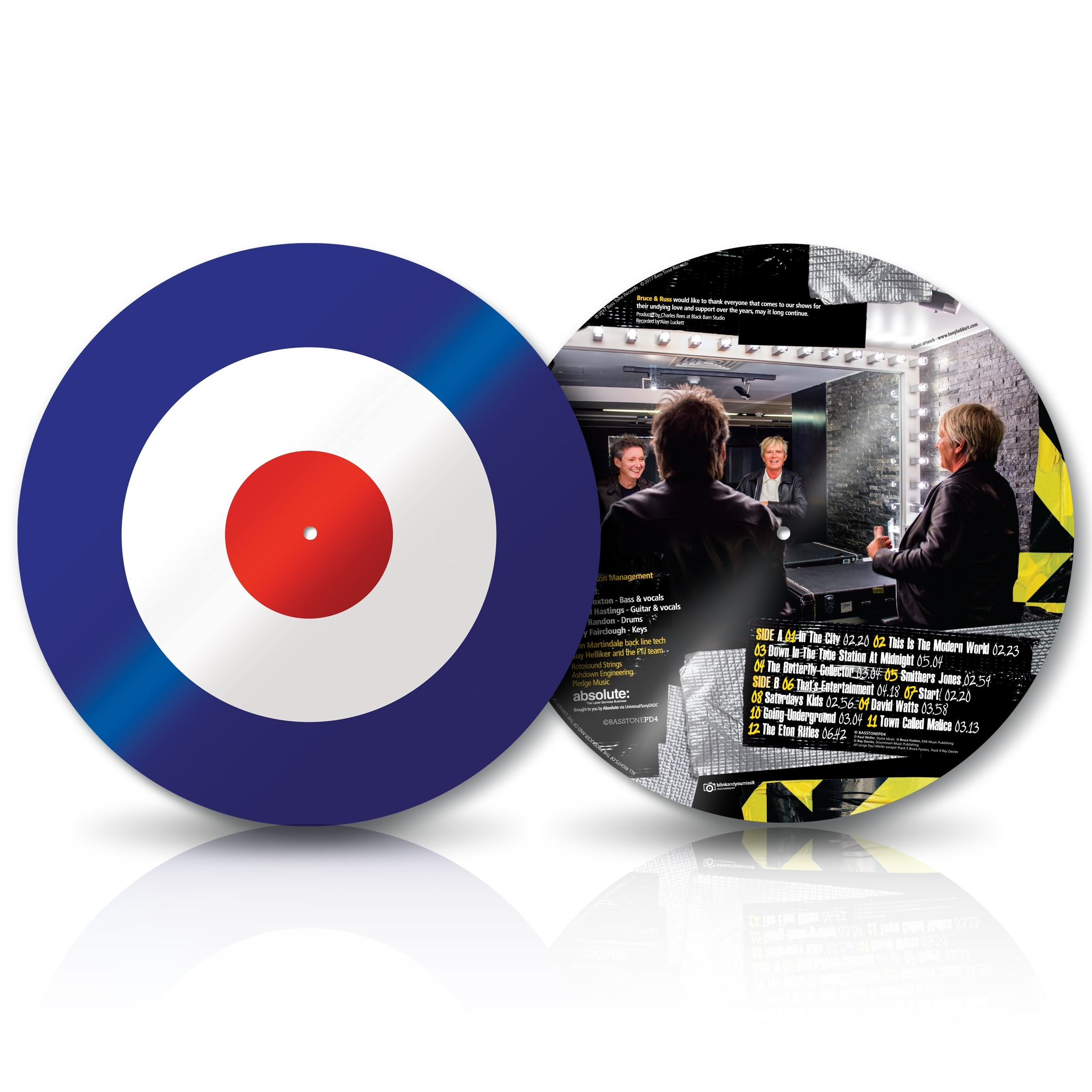 """From The Jam - Live! (Signed Target 12"""" Picture Disc Vinyl) - From The Jam"""