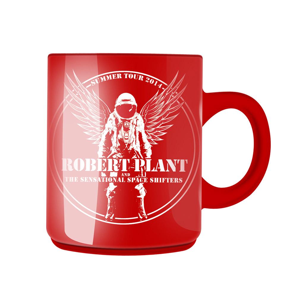 Astronaut - Red Mug - Robert Plant
