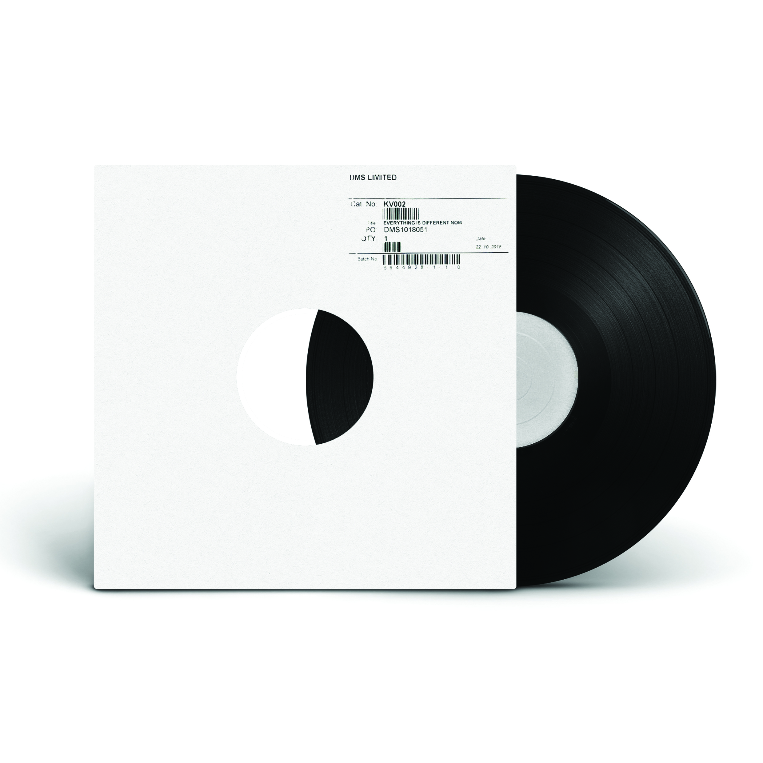 Everything Is Different Now EP - Test Press - IST IST