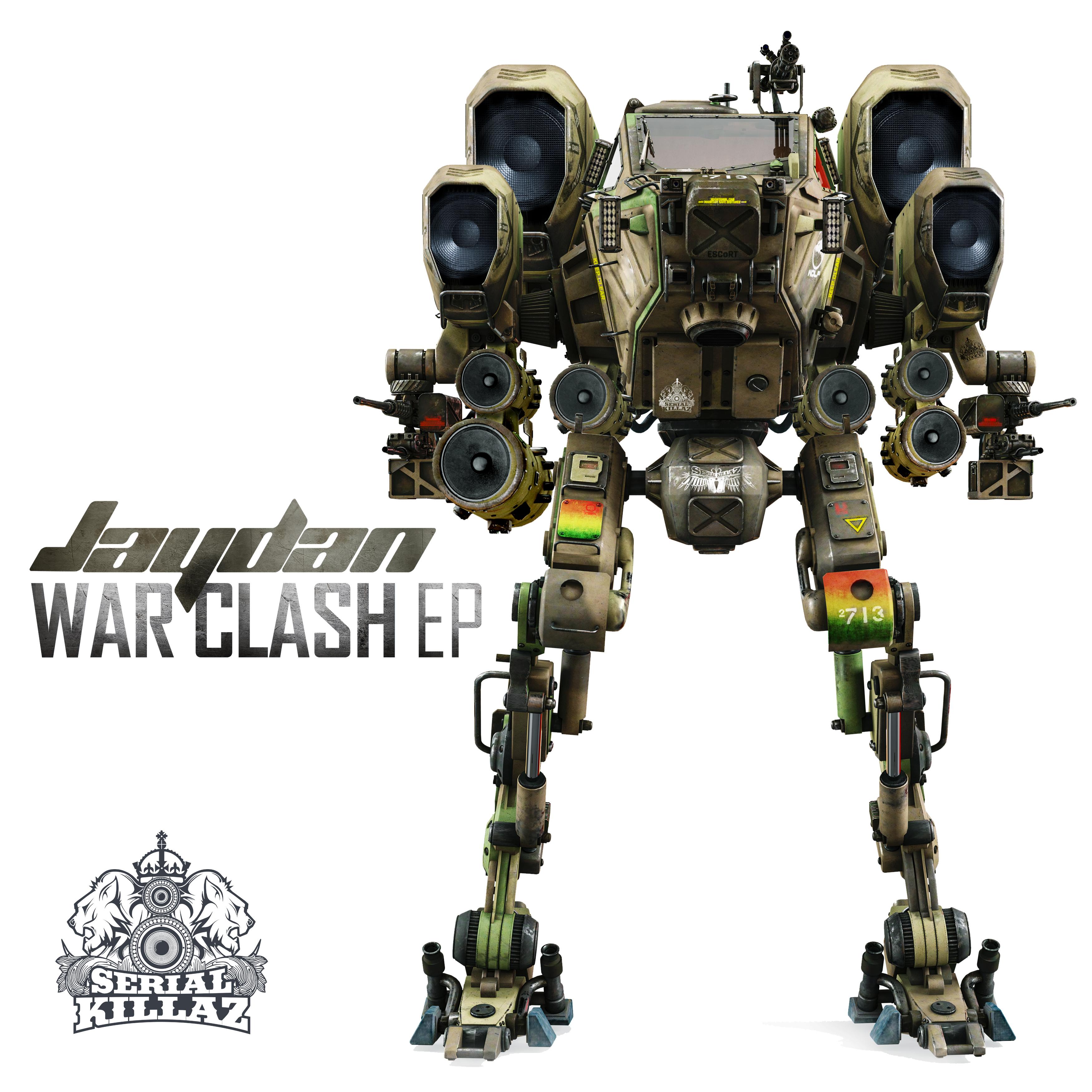 Jaydan - War Clash EP - Serial Killaz