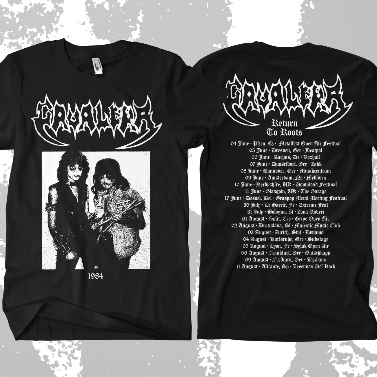 Cavalera - 'Return to Roots' Tour T-Shirt - Soulfly