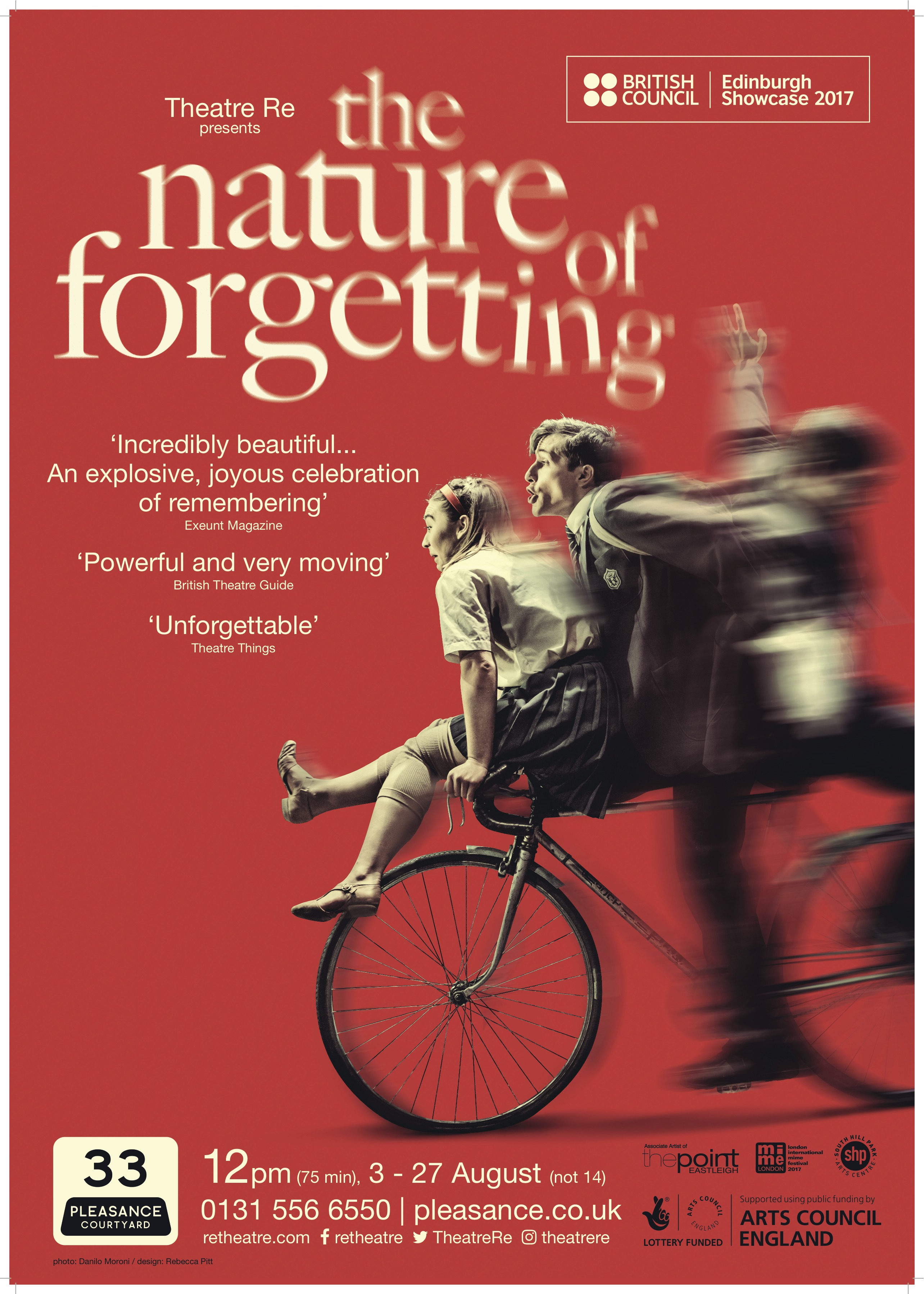 The Nature of Forgetting - Theatre Re