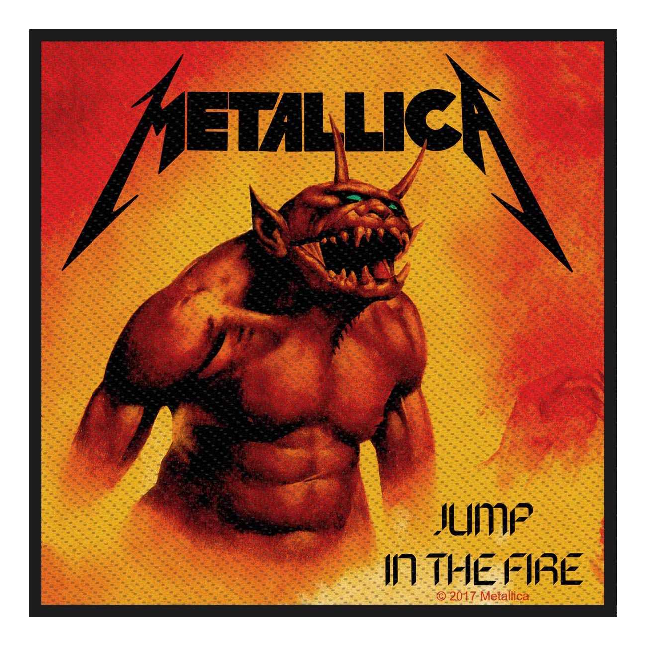 Jump In The Fire – Woven Patch - Metallica