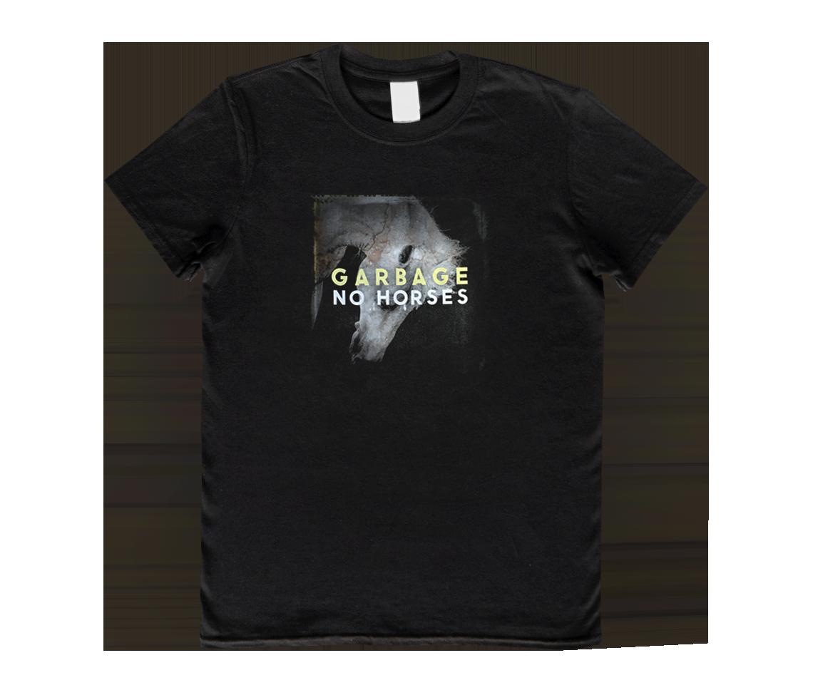 No Horses T-Shirt - Shadow - Garbage