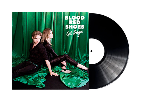 GET TRAGIC - LP - ROM Blood Red Shoes