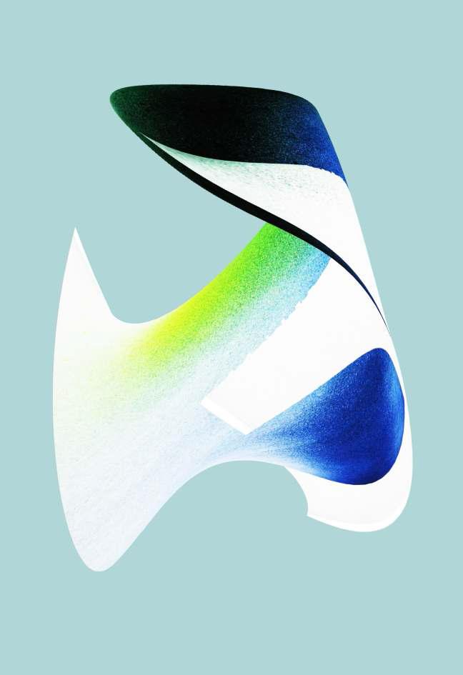 A2 Print 1 - Light Blue Background - Illuminations