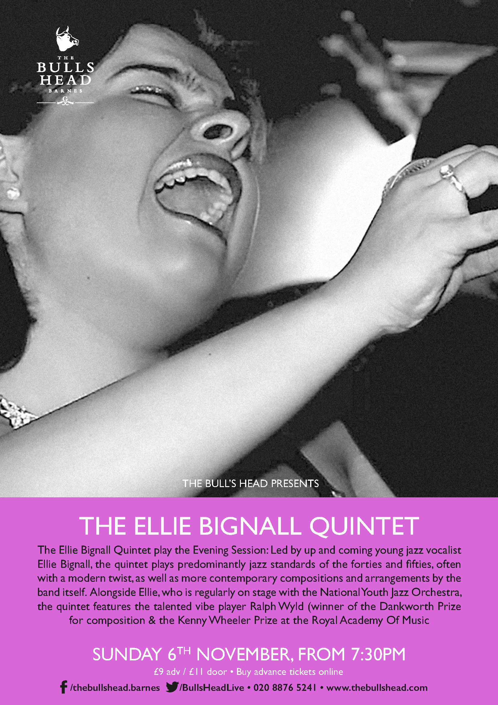 The Ellie Bignall Quintet Play The Evening Session