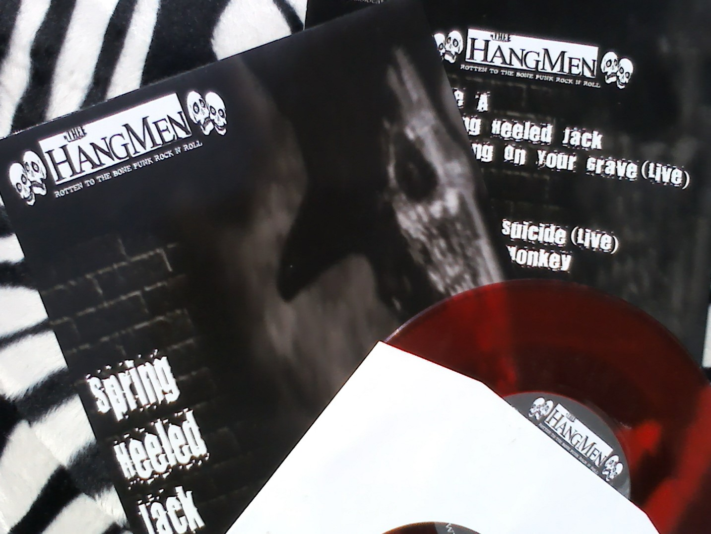 "7"" Vinyl EPs - Spring Heeled Jack + Rock & Roll Freakshow - The Hangmen"