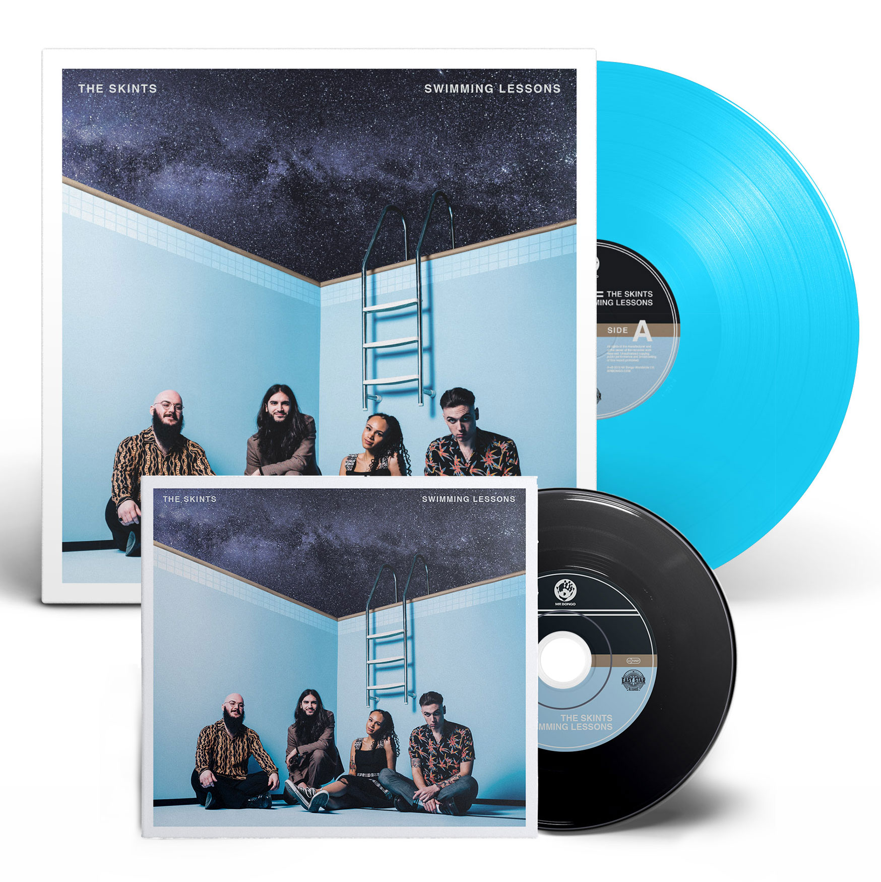 Swimming Lessons CD or LP pre-order - The skints usd