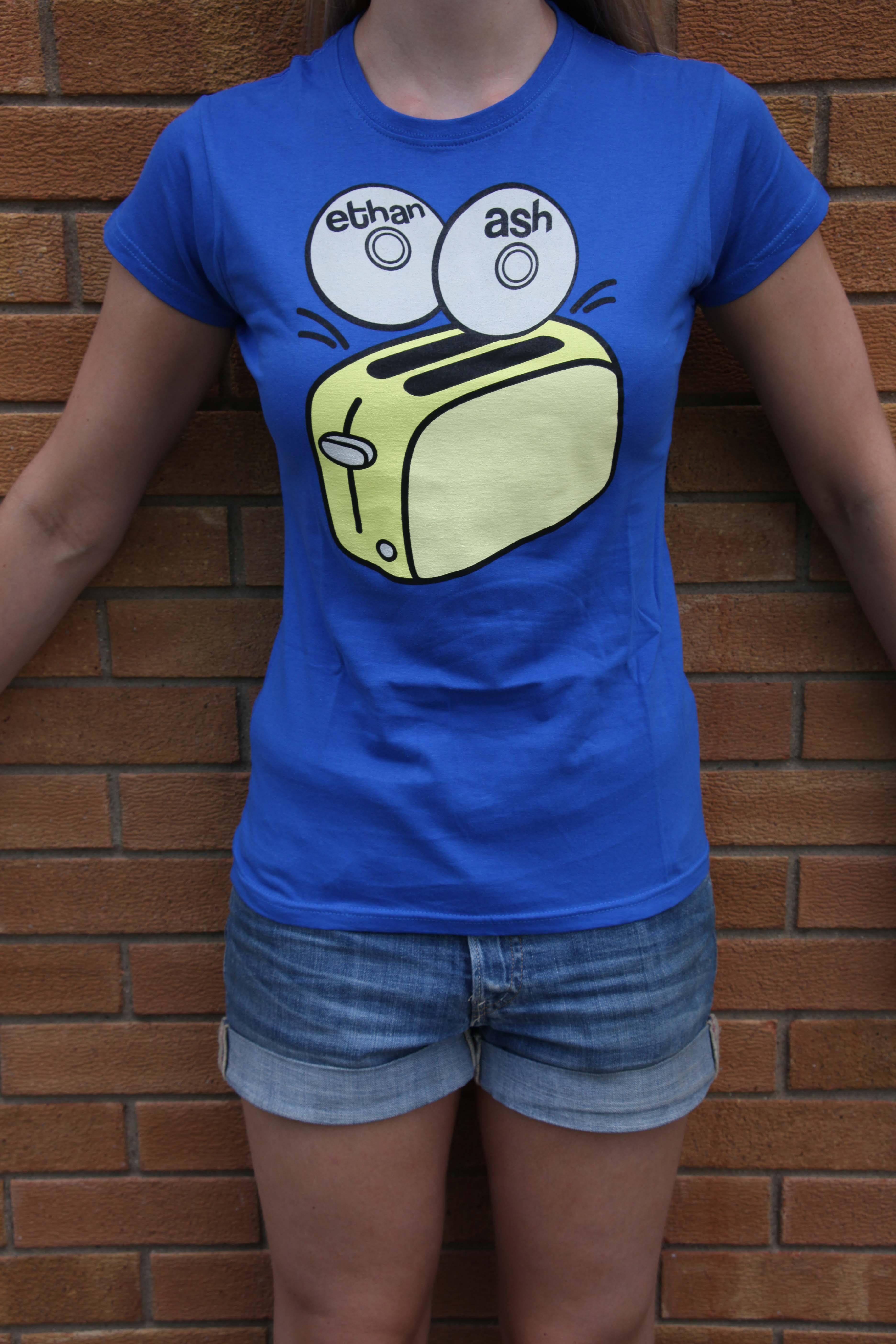 'Toaster' T-Shirt Ladies - Ethan Ash