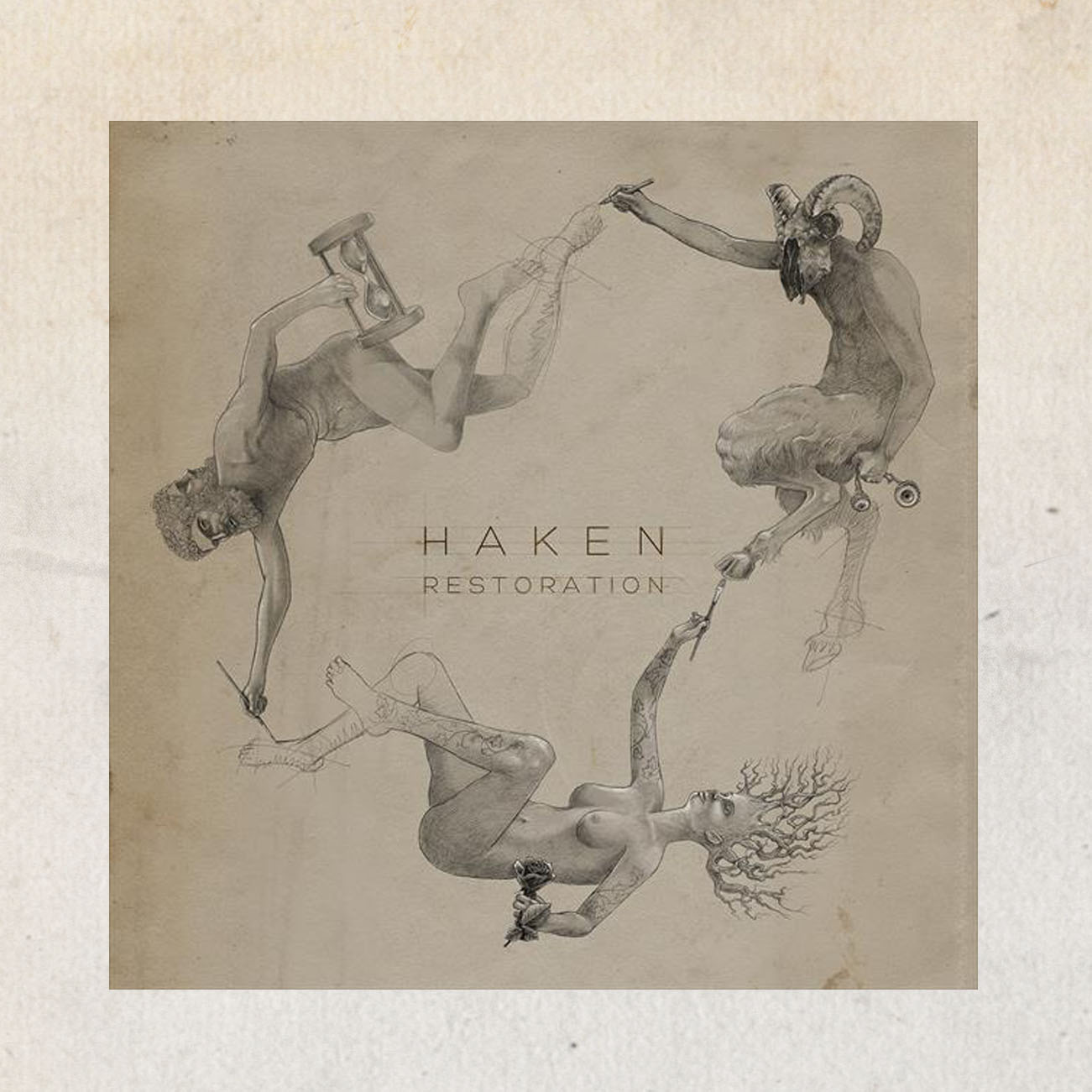 Haken - 'Restoration' EP + CD - Haken
