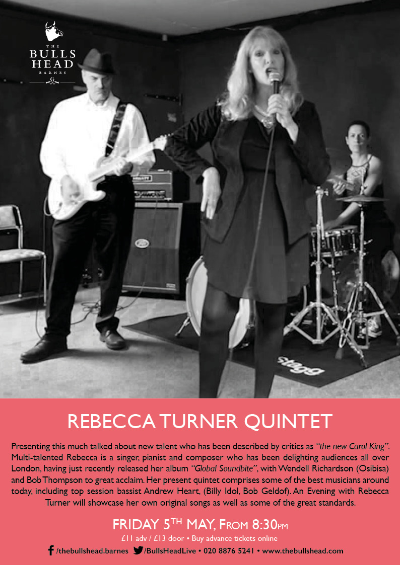 An Evening with The Rebecca Turner Quintet