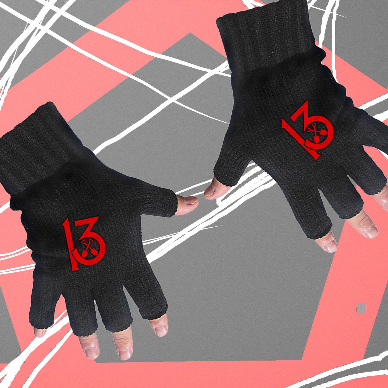 Wednesday 13 - '13' Gloves - Wednesday13