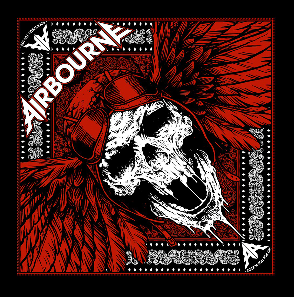 Airbourne - Scorch – Bandana - Airbourne