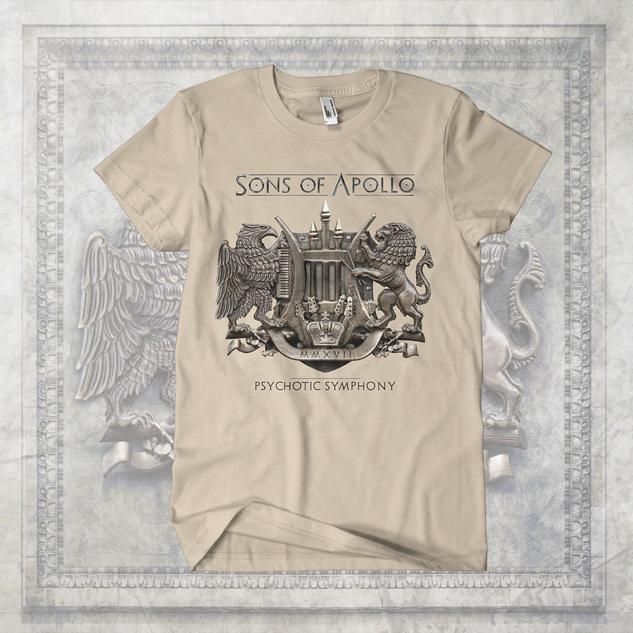 Sons of Apollo - 'Symphony' T-Shirt - Sons of Apollo