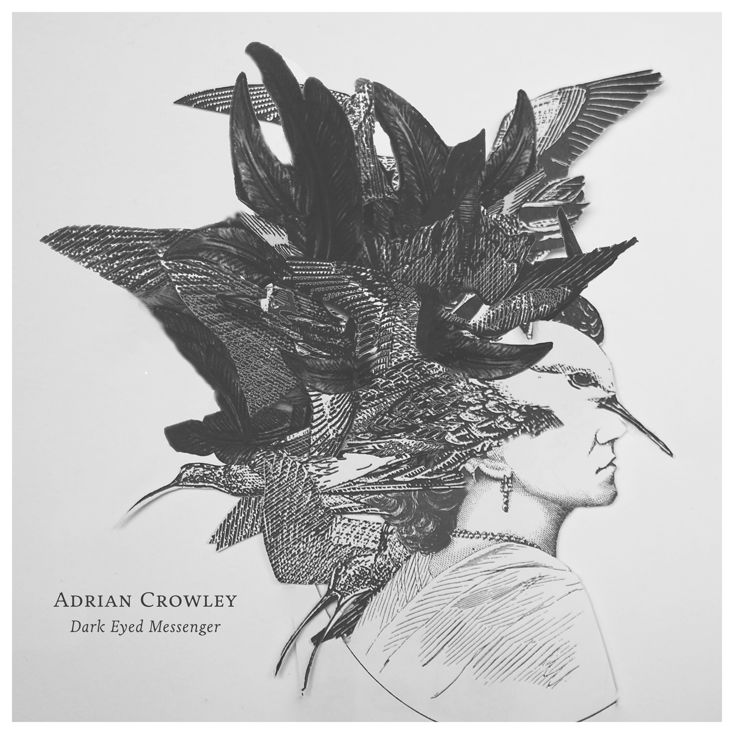 Adrian Crowley - Dark Eyed Messenger - CD Album (2017) - Adrian Crowley