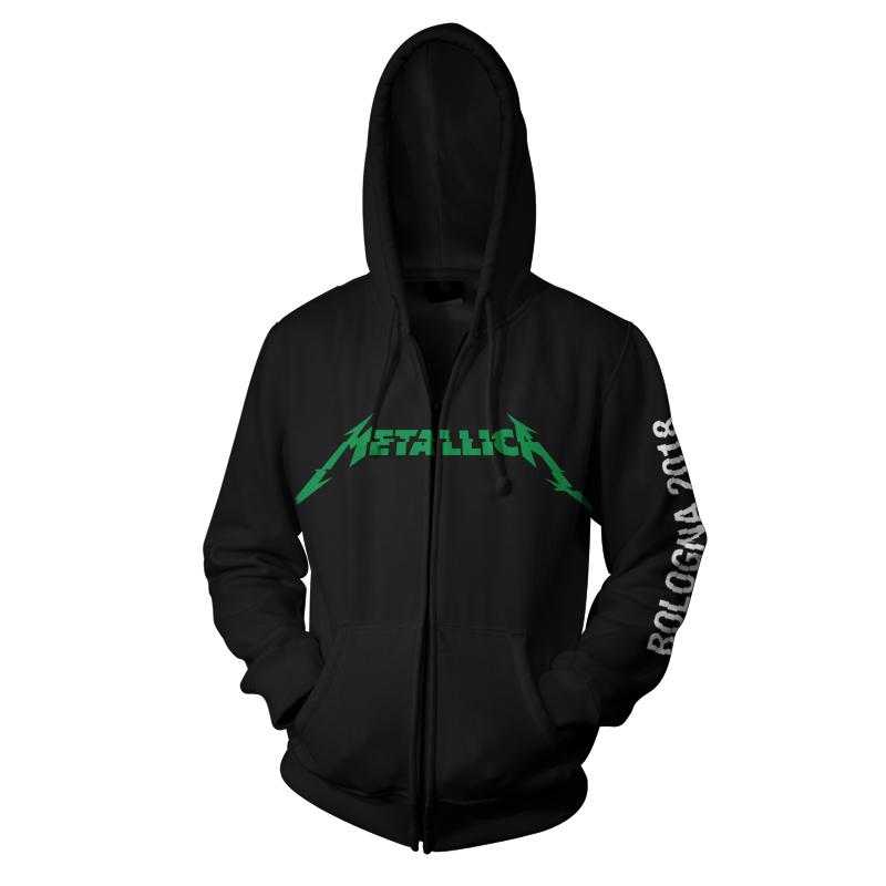 Bologna Skull Flag – Zip Hood - Metallica