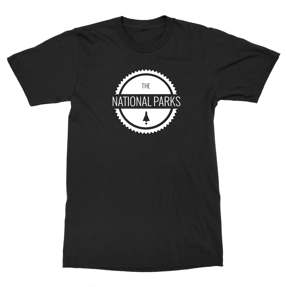 Spaceship Logo Tee - The National Parks