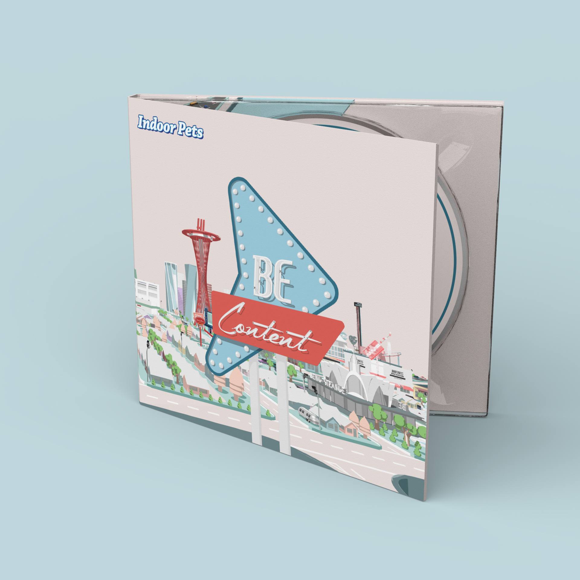Be Content - Signed CD - Indoor Pets