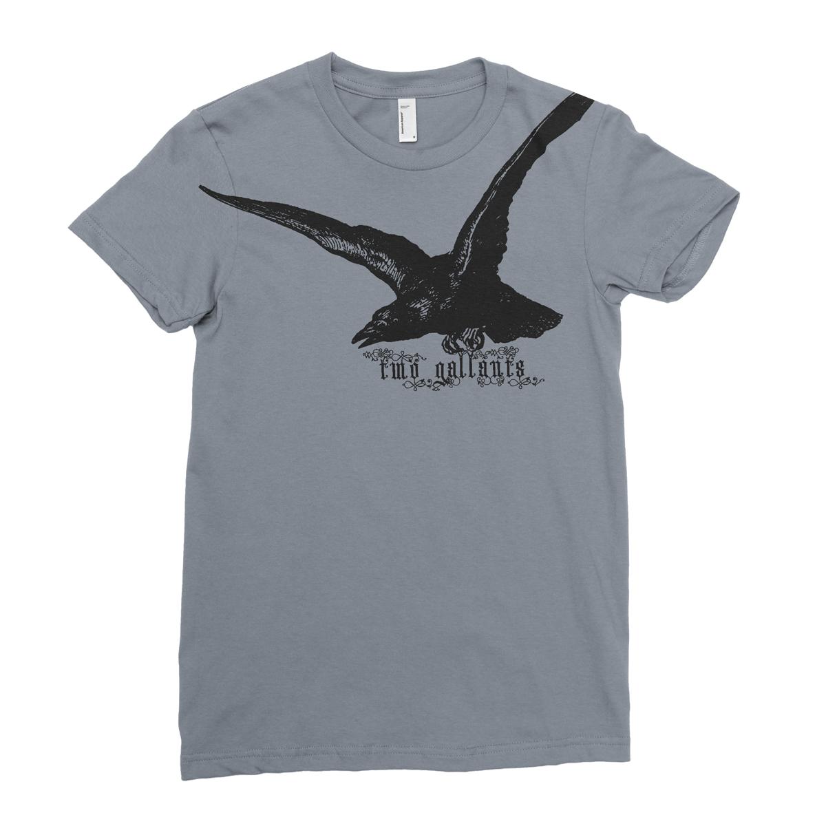 Raven Tee - Asphalt - Two Gallants